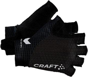 Craft Pro Nano Cycling Glove - Black, Short Finger, X-Small