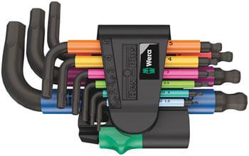 950-9-Hex-Plus-Multicolour-2-L-key-set-metric-BlackLaser-TL4301