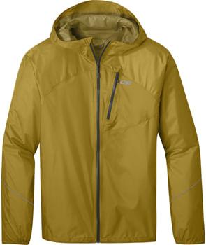 Outdoor Research Helium Rain Jacket - Lichen, Men's, Large