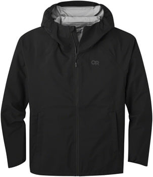Outdoor Research Motive Ascent Shell Jacket - Black, Men's, 2X-Large