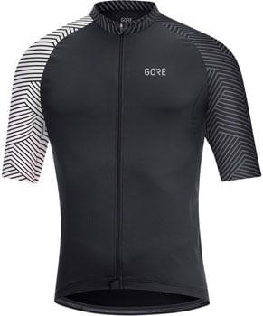 GORE C5 Jersey - Black/White, Men's, Small