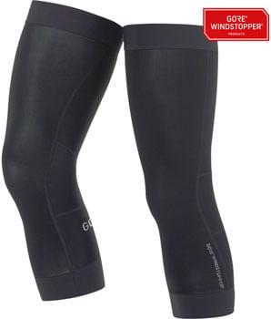 GORE C3 WINDSTOPPER® Knee Warmers - Black, 2X-Large