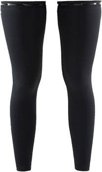 Craft Cycling Leg Warmer - Black, Unisex, Medium/Large