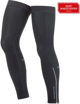 GORE C3 WINDSTOPPER® Leg Warmers - Black, Large