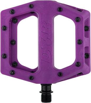 """DMR V11 Pedals - Platform, Composite, 9/16"""", Purple"""