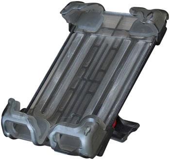 Delta-Hefty-Holder-Plus-Smartphone-Bike-Mount---Clear-Gray-EC9002