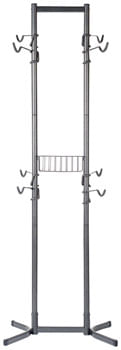 Delta 4-Bike Free Standing Rack With Basket