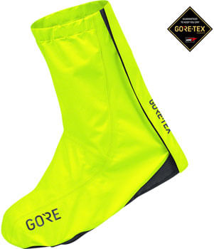 GORE C3 GORE-TEX Overshoes - Neon Yellow, Fits Shoe Sizes 9-10.5