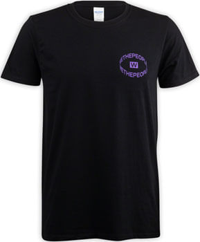 We The People Saturn T-Shirt - Black, X-Large