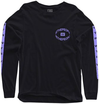 We The People Saturn Long Sleeve T-Shirt - Black, X-Large