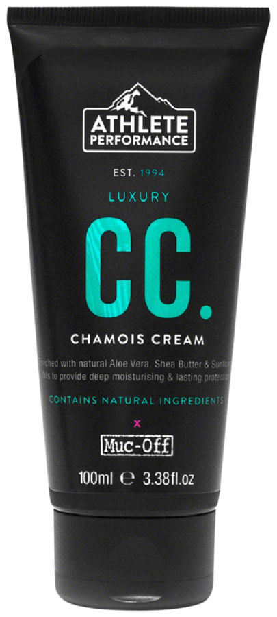 Athlete Performance by Muc-Off Luxury CC Chamois Cream: 100ml Tube