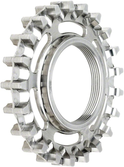 Gates Carbon Drive CDX CenterTrack Rear Sprocket: 21 tooth compatible with ISO Fixed Cog threading