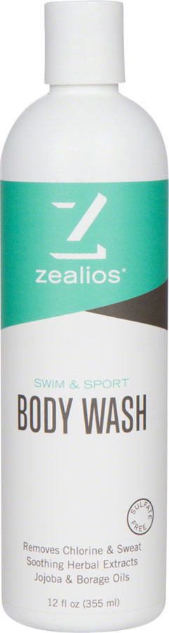Zealios Swim and Sport Body Wash: 12oz