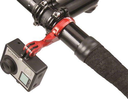 K-EDGE Go Big Pro Universal Action Camera and Light Handlebar Mount 31.8mm: Black