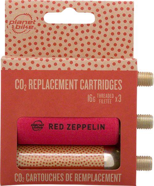 Planet Bike 16g Threaded CO2 Cartridges: 3-Pack