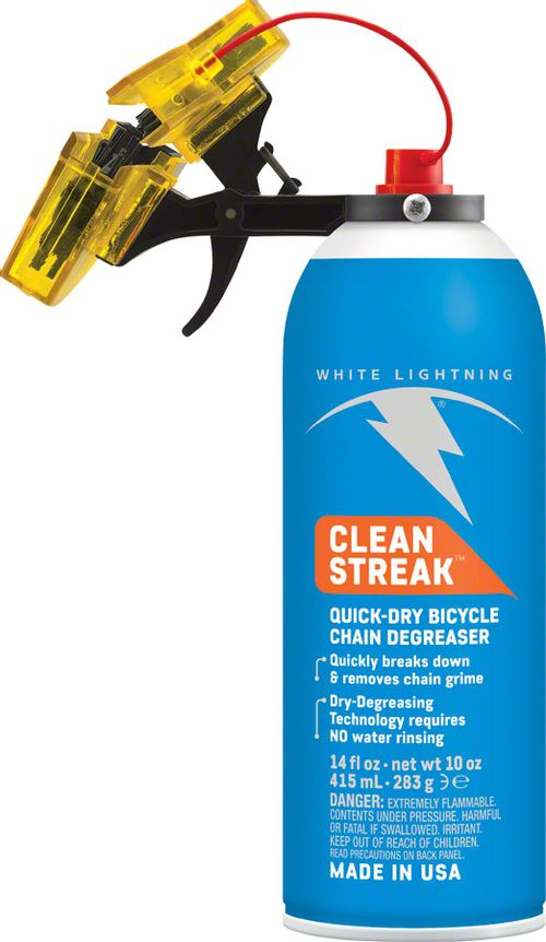 White Lightning Clean Streak Trigger Chain Cleaning System