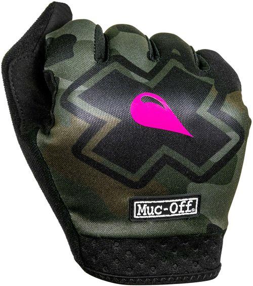 Muc-Off MTB Gloves - Camo, Full-Finger, Small