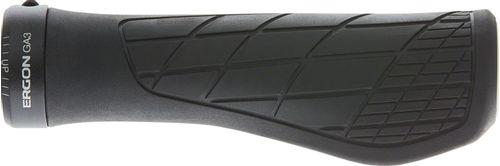 Ergon GA3 Grips - Black, Lock-On