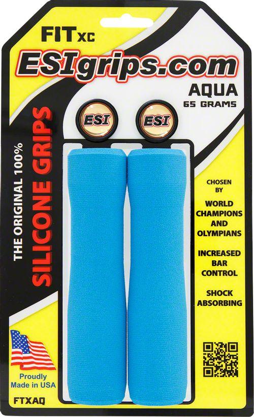 ESI FIT XC Grips - Aqua