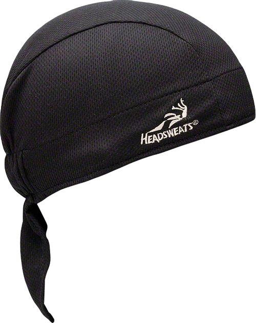 Headsweats Super Duty Shorty Headband: One Size, Black