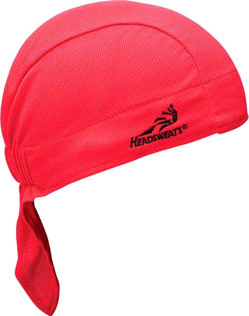 Headsweats Super Duty Shorty Headband: One Size, Red