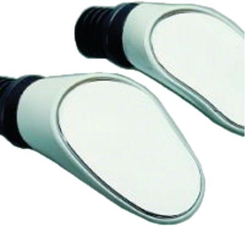 Sprintech Dropbar Mirror: Single~ White