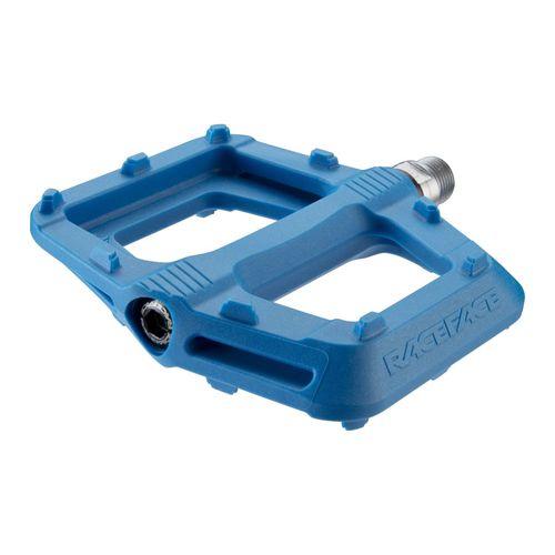 """RaceFace Ride Pedals - Platform, Composite, 9/16"""", Blue"""