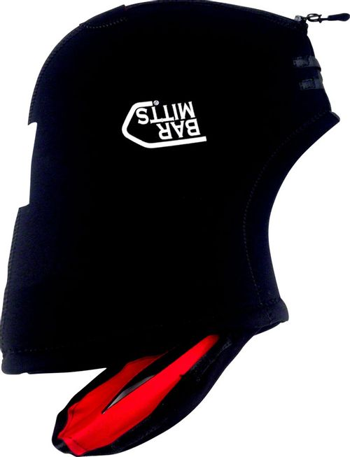 Bar Mitts Extreme Mountain / Commuter Pogie Handlebar Mittens: One Size, Black