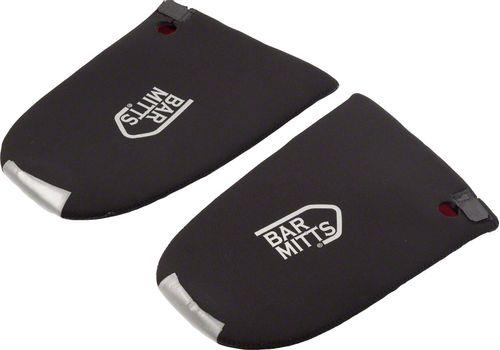Bar Mitts Bullhorn / Cowhorn Pogie Handlebar Mittens: One Size, Black