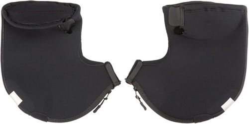 Bar Mitts Extreme Road Pogie Handlebar Mittens - Internally Routed Campy/SRAM/Newer Shimano, No Zipper, XL, Black