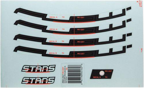 "Stan's No Tubes Flow CB7 Rim Decal - 29"", Black, Set"