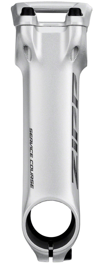"""Zipp Speed Weaponry Service Course Stem - 110mm, 31.8 Clamp, +/-6, 1 1/8"""", Silver"""