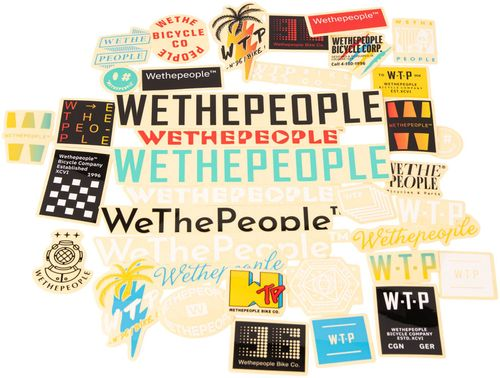 We The People Sticker Pack - Assorted, 15 Pieces