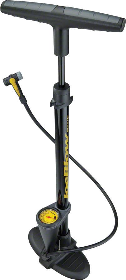Topeak JoeBlow Max HP Floor Pump: Black