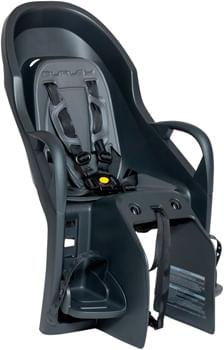 Burley Dash Rack Mount Child Seat - Black/Gray