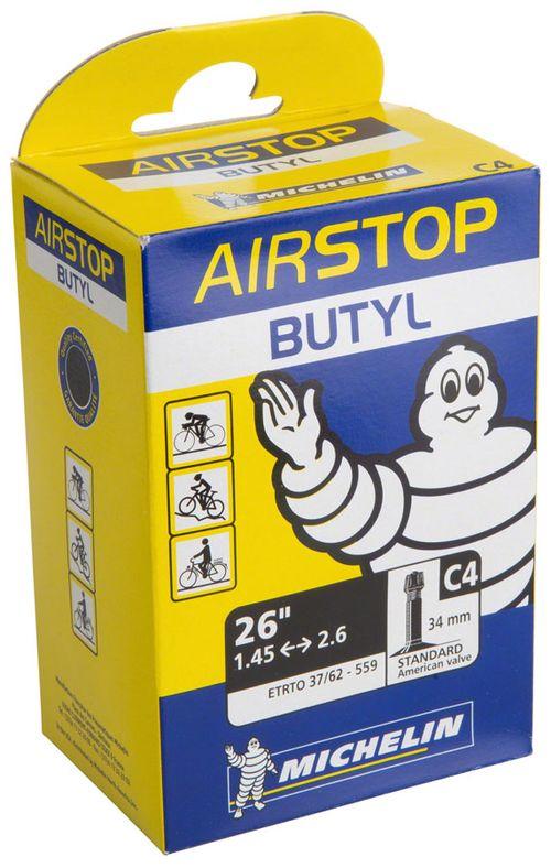 Michelin AirStop Tube, 700x18-25mm 40mm Presta Valve