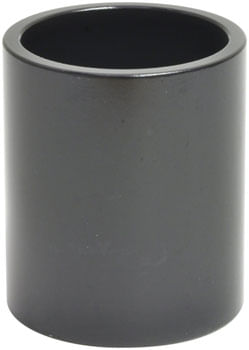 "Wheels Manufacturing Aluminum Headset Spacer - 1-1/8"", 40mm, Black, 1-each"