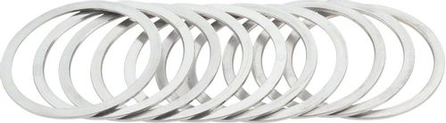 Wheels Manufacturing Freewheel and Bottom Bracket Cup Shims 1.0mm Bag/10