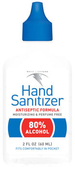 White Lightening Hand Sanitizer - 2oz