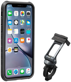 Topeak-Ridecase-with-Mount---Fits-iPhone-XR-Black-Gray-EC0465