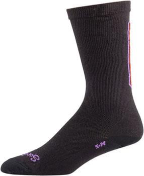 Salsa Cassidy Sock - Black, Yellow, Red, Purple, Small/ Medium