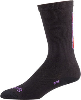 Salsa-Cassidy-Sock---Black-Yellow-Red-Purple-Small--Medium-SK0076