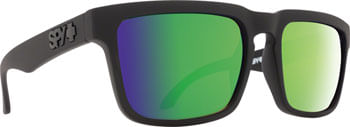 SPY-HELM-Sunglasses---Matte-Black-Happy-Bronze-Polarized-with-Green-Spectra-Mirror-Lenses-EW0475