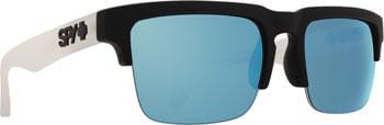 SPY-HELM-5050-Sunglasses---Matte-Black-Clear-Happy-Gray-Green-with-Light-Lenses-EW0481