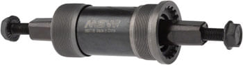 MSW ST100 Square Taper English Bottom Bracket - 68 x 118mm