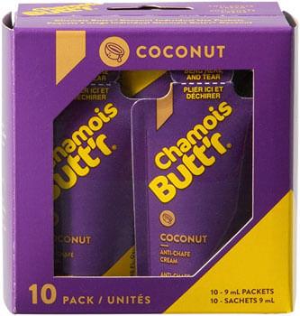 Chamois Butt'r Coconut .3oz POP Box 10