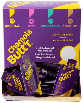 Chamois Butt'r Coconut .3oz POP Box 75