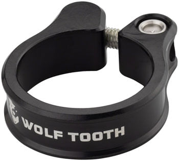 Wolf Tooth Seatpost Clamp - 28.6mm, Black