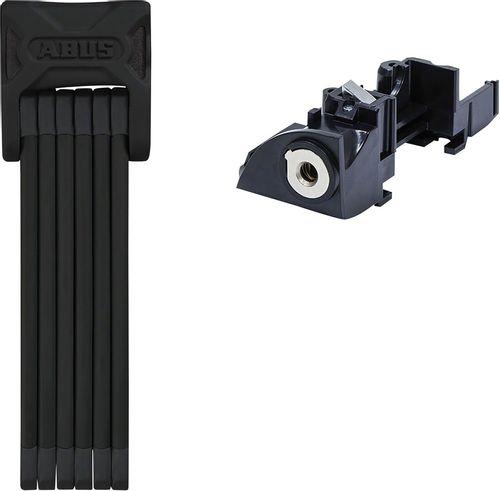 Abus Bordo 6015 Keyed Folding Lock: Black Plus Battery Rack 90cm