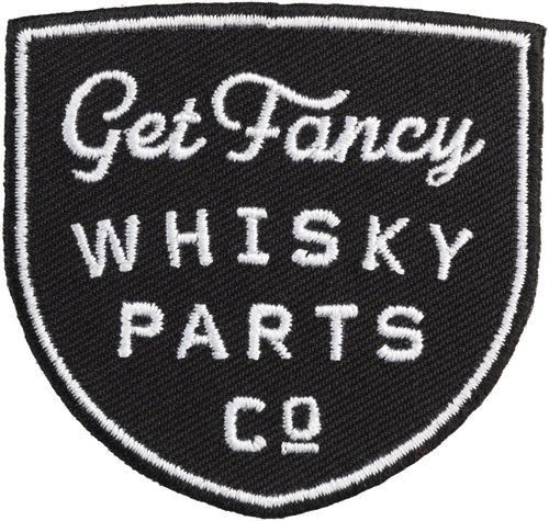 WHISKY Get Fancy Patch - Black/White